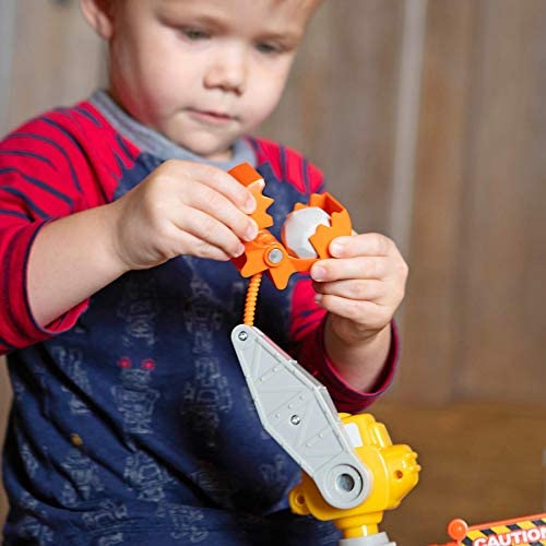 41zwBLCUBeL. AC  - Fat Brain Toys Construction Site Playset Imaginative Play for Ages 3 to 4