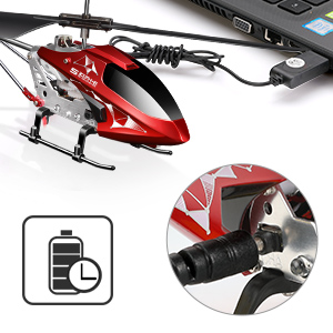422d1e65 4850 448f 82ee 7a0e4fd9746a.  CR0,0,300,300 PT0 SX300 V1    - Remote Control Helicopter, S107H-E Aircraft with Altitude Hold, One Key take Off/Landing, 3.5 Channel, Gyro Stabilizer and High &Low Speed, LED Light for Indoor to Fly for Kids and Beginners(Red)