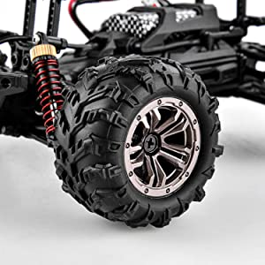 4c2e6883 ea22 4186 8d80 0b858e9628c8.  CR0,0,3000,3000 PT0 SX300 V1    - BEZGAR 5 Hobby Grade 1:20 Scale Remote Control Truck, 4WD High Speed 30+ Kmh All Terrains Electric Toy Off Road RC Monster Vehicle Car Crawler with Rechargeable Batteries for Boys Kids and Adults