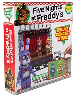 51+DDKn5GbL. AC  - McFarlane Toys Five Nights at Freddy's Deluxe Concert Stage Large Construction Set