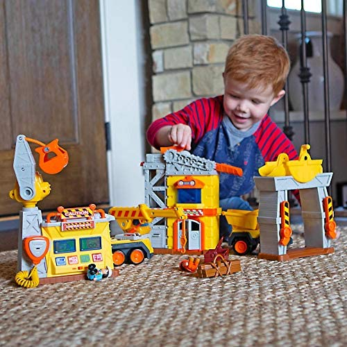 51 793MAwYL. AC  - Fat Brain Toys Construction Site Playset Imaginative Play for Ages 3 to 4
