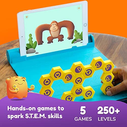 51 u0YwY4pL. AC  - Shifu Plugo Link - Construction Kit with Puzzles, Augmented Reality Stem Toy   Fun Magnetic Building Blocks   Educational Engineering, Ages 5 - 10 Year Old Boys & Girls (App Based)