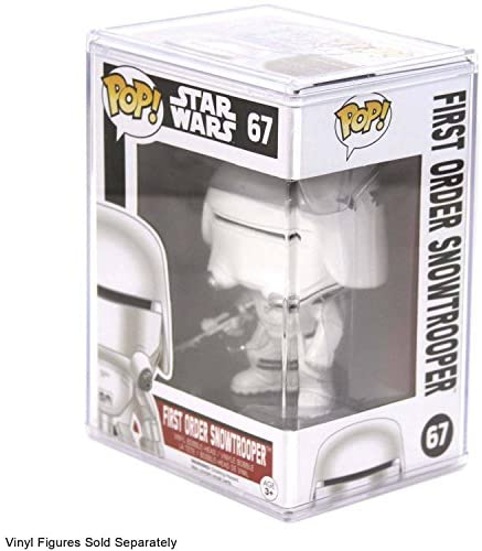 510F5ir7glL. AC  - Funko POP STACKS 6-Pack #1 Seller - Hard Plastic Protector Case for Regular Size Funko Pop Boxed Figures