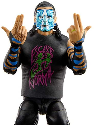 510ZnavgNkL. AC  - WWE Jeff Hardy Elite Collection Action Figure, 6-in/15.24-cm Posable Collectible Gift for WWE Fans Ages 8 Years Old & Up