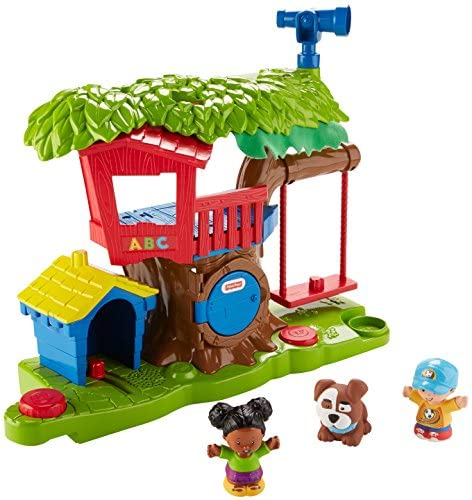 5116kRlF5jL. AC  - Fisher Price Little People Swing and Share Treehouse Playset [Amazon Exclusive]