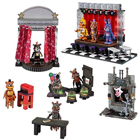 514RUdDHWqL. AC  - McFarlane Toys Five Nights at Freddy's Deluxe Concert Stage Large Construction Set
