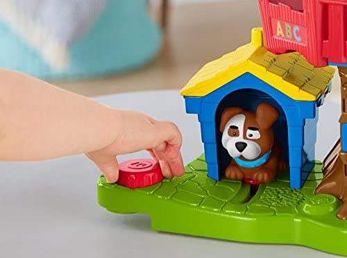 515B8RGuJBL. AC  - Fisher Price Little People Swing and Share Treehouse Playset [Amazon Exclusive]