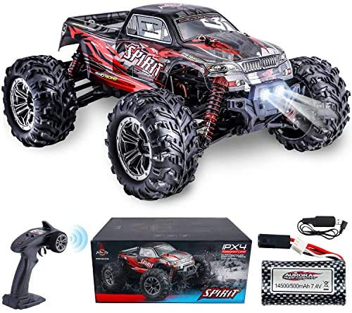 516 hxMfs2L. AC  - HisHerToy Remote Control Car for Adults Boys Girls Big RC Trucks for Adults IPX4 Waterproof Off Road RC Cars for Adults Kids 1:16 // 36km/h Monster Hobby Cross-Country Buggy with Headlights