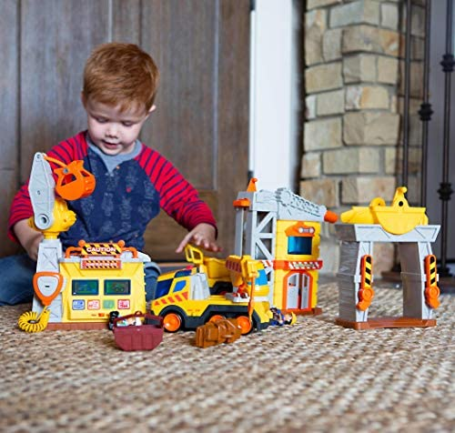 518wpcqhJ6L. AC  - Fat Brain Toys Construction Site Playset Imaginative Play for Ages 3 to 4