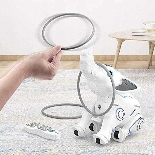51AOSPwwttL. AC  - WomToy Remote Control Robot Elephant Toy, RC Robotic Toys Singing Dancing Interactive Children Toy Early Educational Imitates Animals for Boys and Girls, Ages 3 and Up (Elephant)