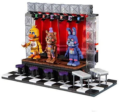 51AXT+MCAYL. AC  - McFarlane Toys Five Nights at Freddy's Deluxe Concert Stage Large Construction Set