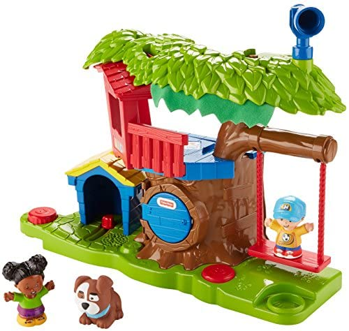 51BiPUilKtL. AC  - Fisher Price Little People Swing and Share Treehouse Playset [Amazon Exclusive]