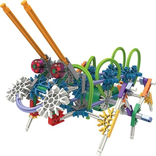 51HtAkg1gZL. AC  - K'NEX Imagine Power and Play Motorized Building Set 529 Pieces Ages 7 and Up Construction Educational Toy