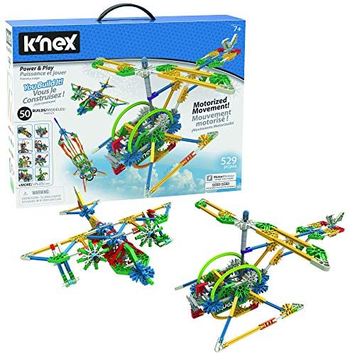 51HvcsGxeXL. AC  - K'NEX Imagine Power and Play Motorized Building Set 529 Pieces Ages 7 and Up Construction Educational Toy