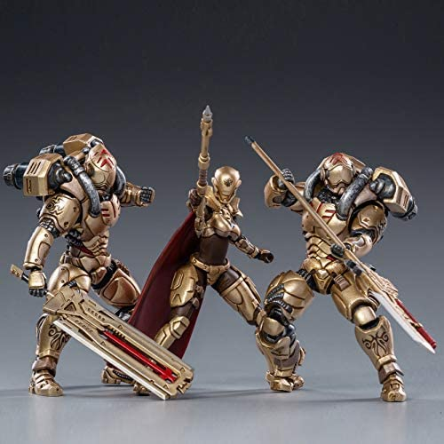 51L2tnCYAaL. AC  - JoyToy 1/18 Action Figures 4-Inch Golden Legion Soldier Figure PVC Military Model Collection Toys