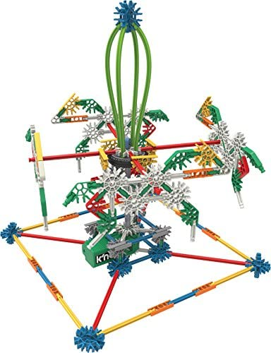 51QU MWNpbL. AC  - K'NEX Imagine Power and Play Motorized Building Set 529 Pieces Ages 7 and Up Construction Educational Toy
