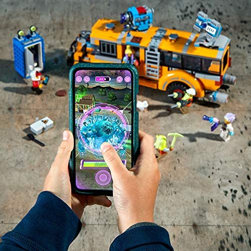 51QxuMPEo1L. AC  - LEGO Hidden Side Paranormal Intercept Bus 3000 70423 Augmented Reality [AR] Building Kit with Toy Bus, Toy App Allows for Endless Creative Play with Ghost Toys and Vehicle (689 Pieces)