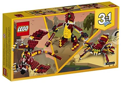 51SvU1BACFL. AC  - LEGO Creator 3in1 Mythical Creatures 31073 Building Kit (223 Pieces) (Discontinued by Manufacturer)
