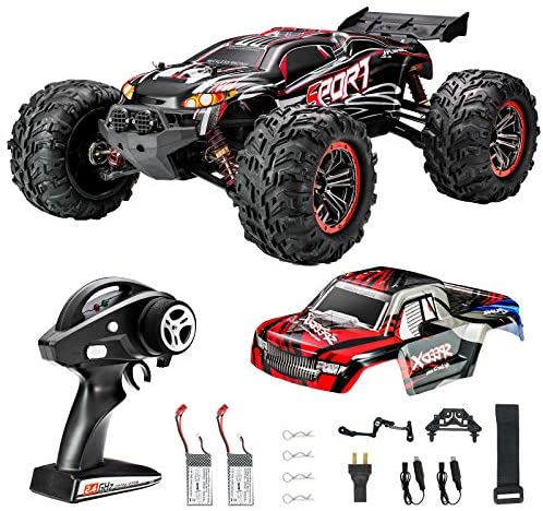 51Ths6H07nL. AC  - FLYHAL X04 PRO Remote Control Car RC Car 52km/h 32MPH 1:10 Scale 4WD Off-Road Rc Car for Adults and Kids Replaceable Car Shell 2.4 GHz Truck (2 Batteries)