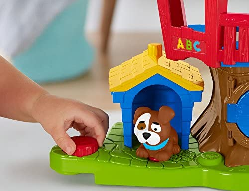 51Ud5f24ipL. AC  - Fisher Price Little People Swing and Share Treehouse Playset [Amazon Exclusive]