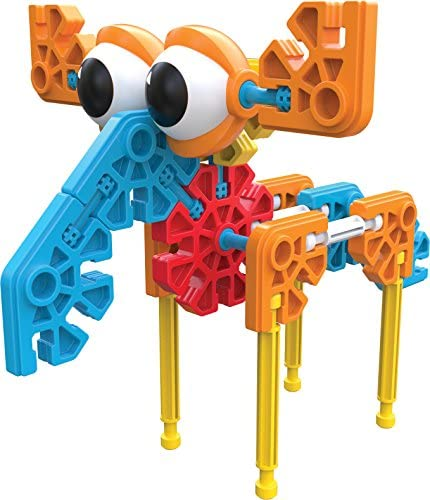 51VoiS9IMAL. AC  - KID K'NEX – Budding Builders Building Set – 100 Pieces – Ages 3 and Up – Preschool Educational Toy