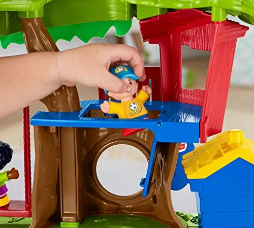 51VwhY9 JZL. AC  - Fisher Price Little People Swing and Share Treehouse Playset [Amazon Exclusive]