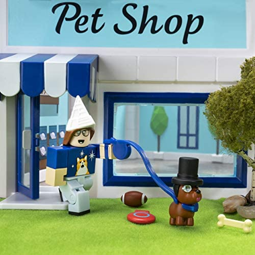 51Wmw3 KbyL. AC  - Roblox Celebrity Collection - Adopt Me: Pet Store Deluxe Playset [Includes Exclusive Virtual Item]