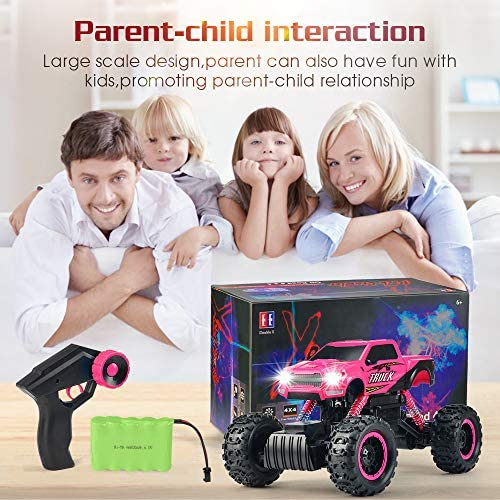 51XbdtUnLlL. AC  - DOUBLE E RC Cars Newest 1:12 Scale Remote Control Car with Rechargeable Batteries and Dual Motors Off Road RC Trucks,High Speed Racing Car for Kids