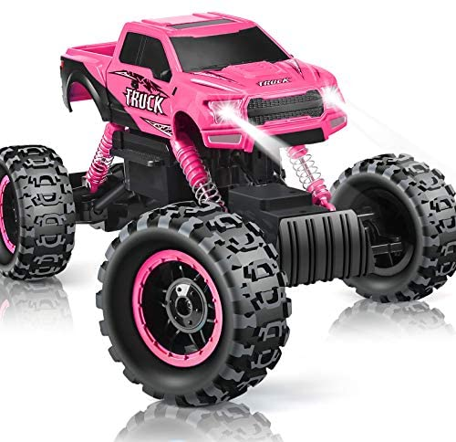 51Xt38AzssL. AC  - DOUBLE E RC Cars Newest 1:12 Scale Remote Control Car with Rechargeable Batteries and Dual Motors Off Road RC Trucks,High Speed Racing Car for Kids
