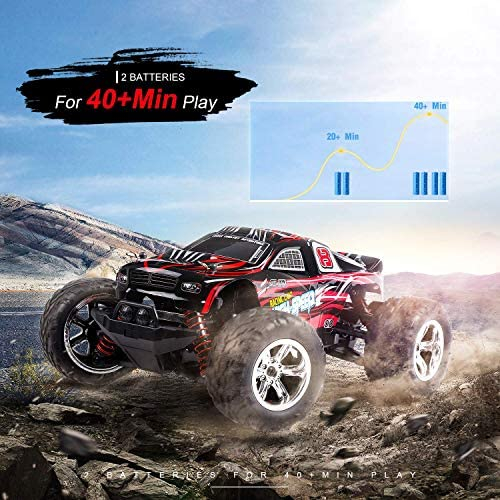 51XziXVlspL. AC  - EACHINE Remote Control Car for Kids Adults,EC09 RC Car High Speed 1:20Scale 40+ KM/H 4WD Off Road Monster Trucks,2.4GHz All Terrain Toy Trucks with 2 Rechargeable Battery,40+ Min Play Gifts for Boys