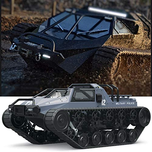51ZnocE09jL. AC  - Mostop Remote Control Crawler High Speed Tank Off-Road 4WD RC Car 2.4 Ghz RC Army Truck 1/12 Drift Tank RC Tank for Kids Adults