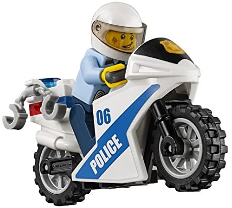 51aiOgfon9L. AC  - LEGO City Police Station 60141 Building Kit with Cop Car, Jail Cell, and Helicopter, Top Toy and Play Set for Boys and Girls (894 Pieces) (Discontinued by Manufacturer)