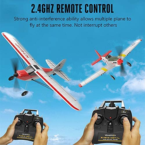 51dDQLYuWvL. AC  - SONIKRC VOLANTEXRC Remote Control Airplane P51D 400mm 4CH 2.4G RC Model Plane Outdoor Toys for Kid Birthday Gift