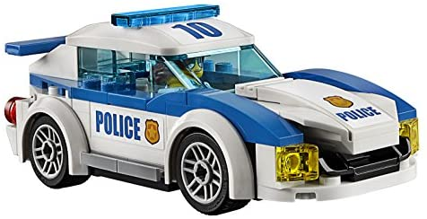51e5cwabZ3L. AC  - LEGO City Police Station 60141 Building Kit with Cop Car, Jail Cell, and Helicopter, Top Toy and Play Set for Boys and Girls (894 Pieces) (Discontinued by Manufacturer)