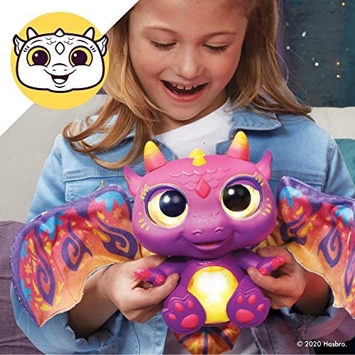 51fJzKW9eYL. AC  - furReal Moodwings Baby Dragon Interactive Pet Toy, 50+ Sounds & Reactions, Ages 4 and Up