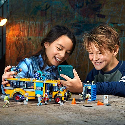 51fRB1Q+PwL. AC  - LEGO Hidden Side Paranormal Intercept Bus 3000 70423 Augmented Reality [AR] Building Kit with Toy Bus, Toy App Allows for Endless Creative Play with Ghost Toys and Vehicle (689 Pieces)