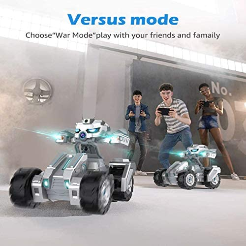 51g+g9OLyGL. AC  - RC Car Remote Control Car with 720P HD FPV Camera 1/18 Remote Control Truck Gravity Sensor Rc Truck for Kids Versus Mode Rock Crawler Car Gift for Boys and Girls (Updated Android App)