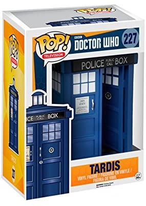 51ggv9WcceL. AC  - Funko 5286 POP TV: Doctor Who Tardis 6-Inches Action Figure