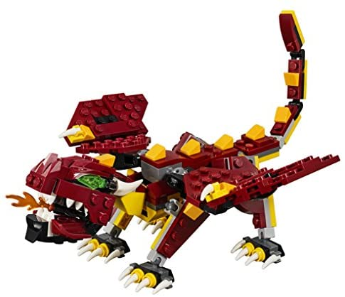 51hR5MDl0NL. AC  - LEGO Creator 3in1 Mythical Creatures 31073 Building Kit (223 Pieces) (Discontinued by Manufacturer)