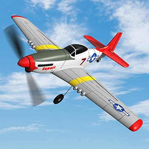 51hbS4kWKSL. AC  - SONIKRC VOLANTEXRC Remote Control Airplane P51D 400mm 4CH 2.4G RC Model Plane Outdoor Toys for Kid Birthday Gift