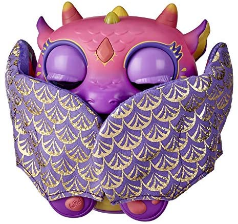 51hbwqCUq3L. AC  - furReal Moodwings Baby Dragon Interactive Pet Toy, 50+ Sounds & Reactions, Ages 4 and Up