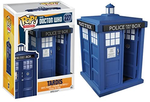 51jyaDV4Q+L. AC  - Funko 5286 POP TV: Doctor Who Tardis 6-Inches Action Figure
