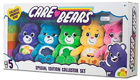 51kEW 0gBvL. AC  - Basic Fun Care Bears Special Edition Collector Set