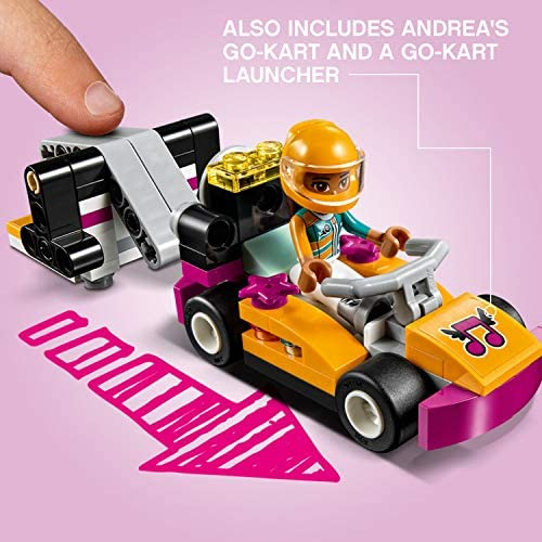 51kMRcNbLoL. AC  - LEGO Friends Drifting Diner 41349 Race Car and Go-Kart Toy Building Kit for Kids, Best Creative Gift for Girls and Boys (345 Pieces) (Discontinued by Manufacturer)