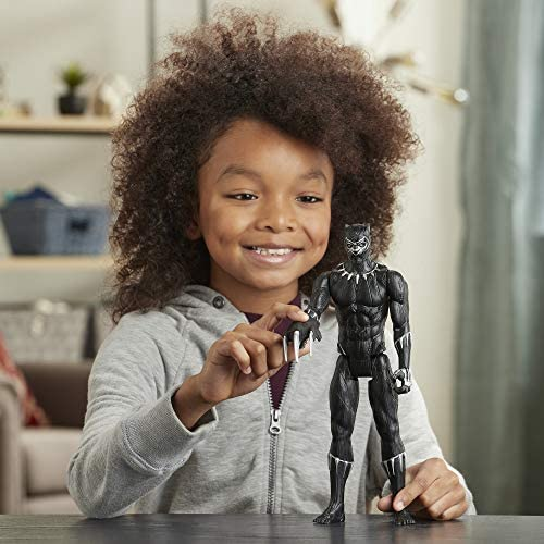 51kQOQ3 nYL. AC  - Avengers Marvel Titan Hero Series Blast Gear Deluxe Black Panther Action Figure, 12-Inch Toy, Inspired by Marvel Comics, for Kids Ages 4 and Up