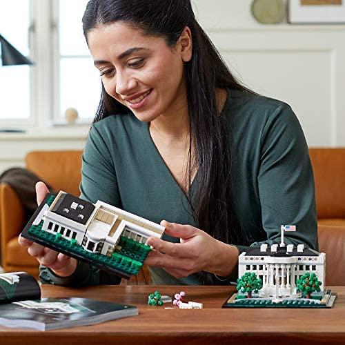 51l8QleY yL. AC  - LEGO Architecture Collection: The White House 21054 Model Building Kit, Creative Building Set for Adults, A Revitalizing DIY Project and Great Gift for Any Hobbyists, New 2020 (1,483 Pieces)