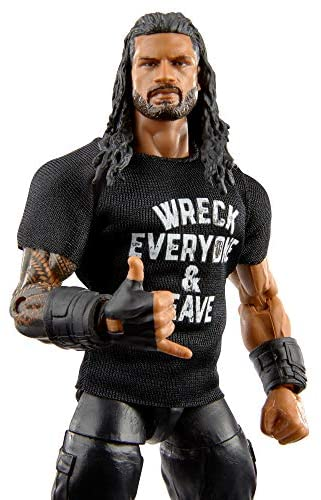 51ljAYyFgnL. AC  - WWE Roman Reigns Elite Collection Action Figure, 6-in/15.24-cm Posable Collectible Gift for WWE Fans Ages 8 Years Old & Up