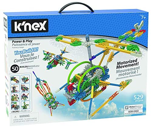 51lpnL2Vo2L. AC  - K'NEX Imagine Power and Play Motorized Building Set 529 Pieces Ages 7 and Up Construction Educational Toy
