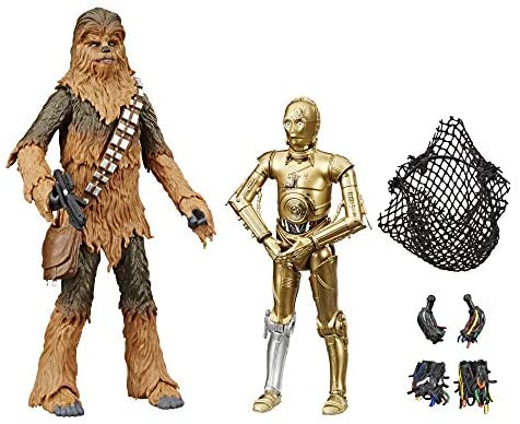 """51qQyzPtDRL. AC  - Star Wars The Black Series Chewbacca & C-3PO Toys 6"""" Scale The Empire Strikes Back Collectible Figures (Amazon Exclusive)"""
