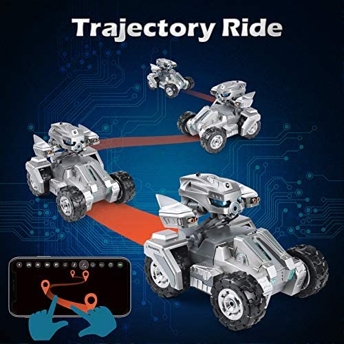 51seSQm3tTL. AC  - RC Car Remote Control Car with 720P HD FPV Camera 1/18 Remote Control Truck Gravity Sensor Rc Truck for Kids Versus Mode Rock Crawler Car Gift for Boys and Girls (Updated Android App)